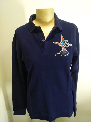 Lacoste by Jean-Paul Goude limited Edition Poloshirt Gr. S