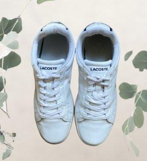 Lacoste Sneakresy na obcasie biały