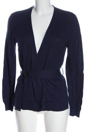Lacoste Cardigan blau Casual-Look