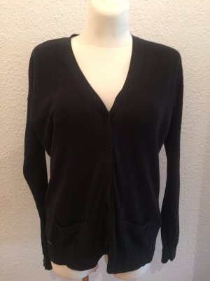Lacoste Cardigan in maglia nero