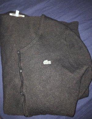 Lacoste Cardigan schwarz
