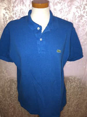 Lacoste Camiseta tipo polo azul neón