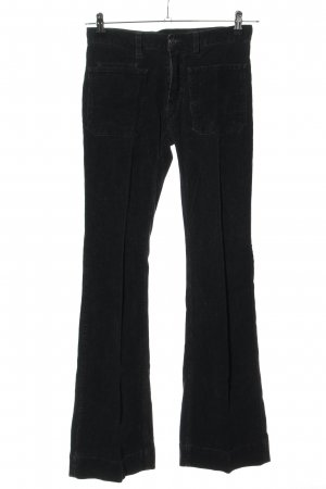 Lacoste Corduroy Trousers black casual look