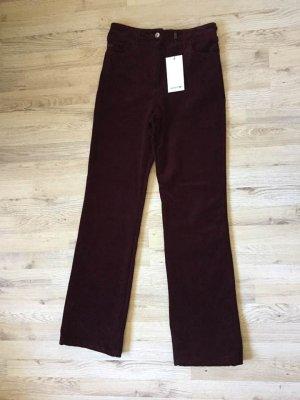 Lacoste Corduroy Trousers multicolored cotton