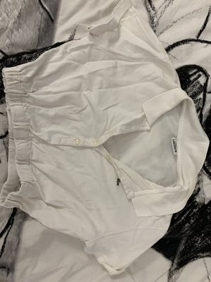 Lacoste Cropped top wit