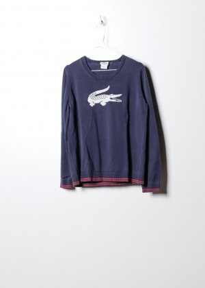 Lacoste Damen Sweatshirt in Blau