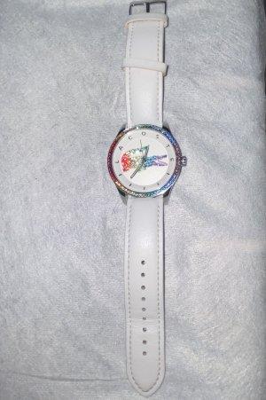Lacoste Horloge met lederen riempje veelkleurig