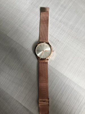Lacoste Watch With Metal Strap rose-gold-coloured