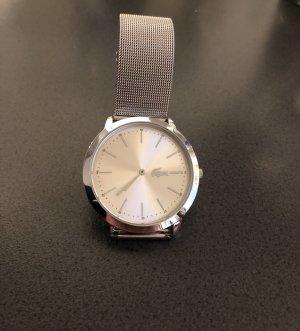 Lacoste Reloj con pulsera metálica color plata
