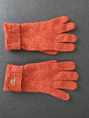 Lacoste Gloves multicolored wool