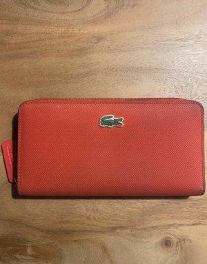 Lacoste Geldbeutel rot Portemonnaie