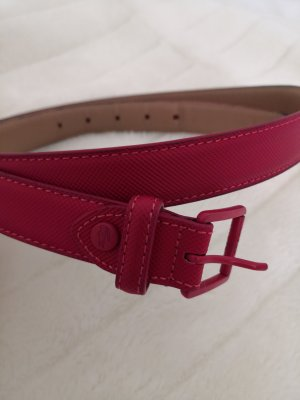 Lacoste Hip Belt raspberry-red leather