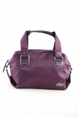 Lacoste Handtasche lila Casual-Look