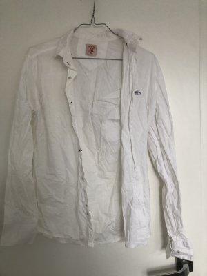 Lacoste Koszula z długim rękawem biały