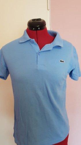 Lacoste Chemise à manches courtes bleu clair