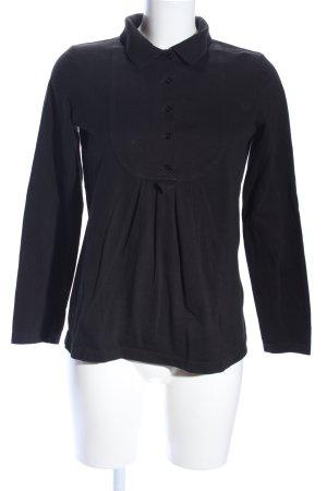 Lacoste Hemd-Bluse schwarz Casual-Look