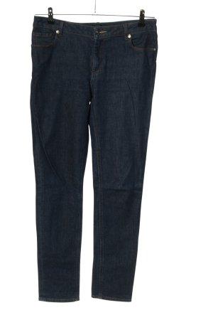Lacoste Jeans a vita alta blu stile casual
