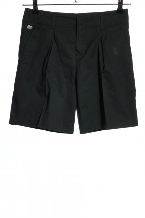 Lacoste High-Waist-Shorts black casual look