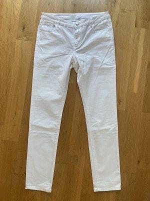 Lacoste Jeans slim fit bianco Cotone