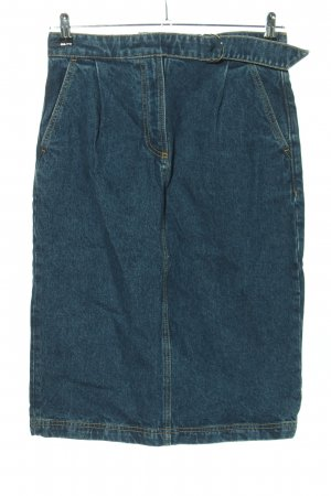 Lacoste Gonna di jeans blu stile casual