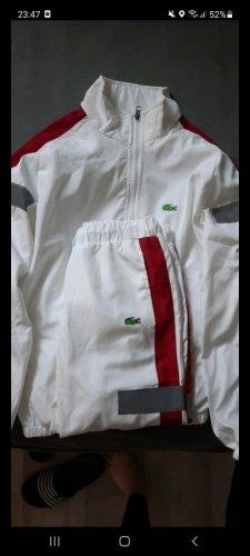 Lacoste Pantalone da abito bianco