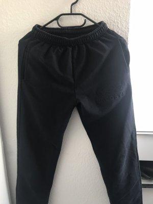 Lacoste Pantalon en jersey noir-gris anthracite