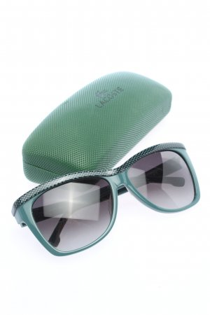 Lacoste Square Glasses turquoise casual look