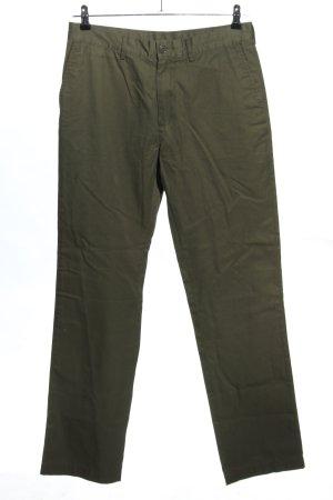 Lacoste Pantalone kaki cachi applicazione del logo