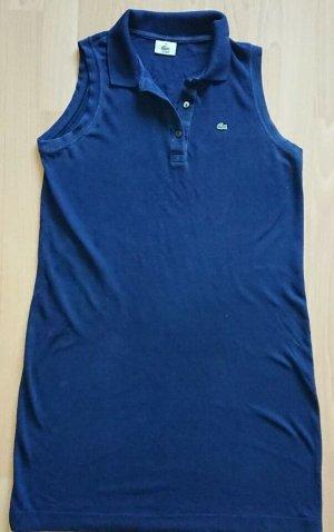 Lacoste, Kleid, Gr. 44, Blau, A Form, Piqué
