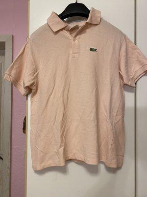 Lacoste Camicia a maniche corte color carne