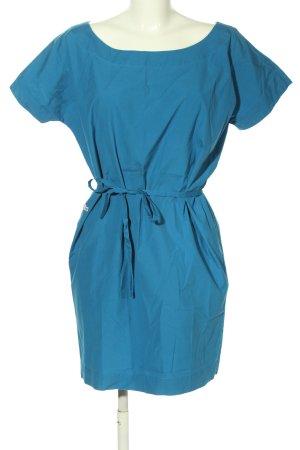 Lacoste Kurzarmkleid blau Casual-Look