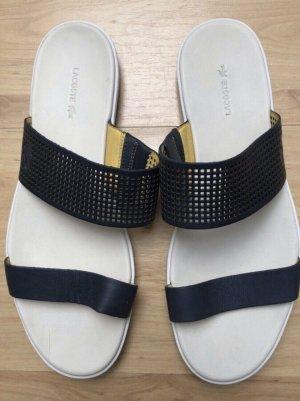 Lacoste Beach Sandals dark blue-white