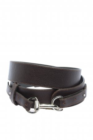 Lacoste Leather Belt black casual look