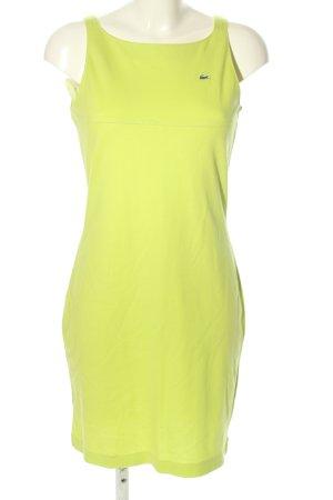 Lacoste Minikleid grün Casual-Look