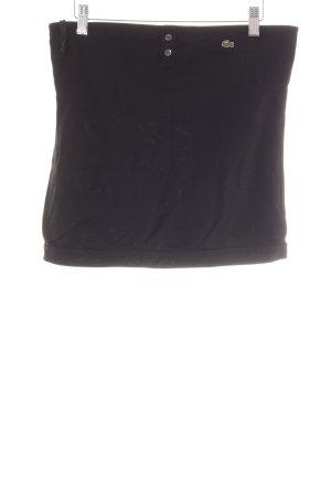 Lacoste Minifalda negro estilo clásico