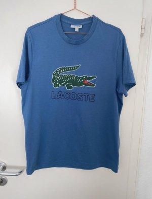 Lacoste T-shirt blu acciaio