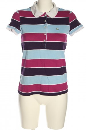 Lacoste Polo-Shirt Streifenmuster Casual-Look