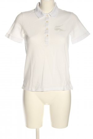 Lacoste Polo-Shirt creme Casual-Look