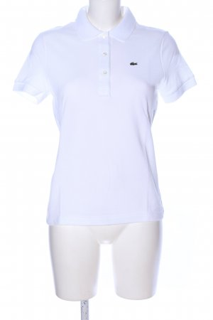Lacoste Polo-Shirt weiß Casual-Look