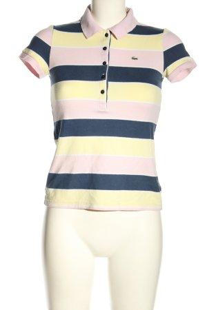 Lacoste Camiseta tipo polo estampado a rayas look casual