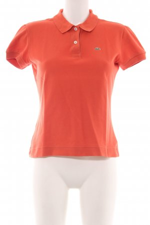 Lacoste Polo-Shirt hellorange Casual-Look
