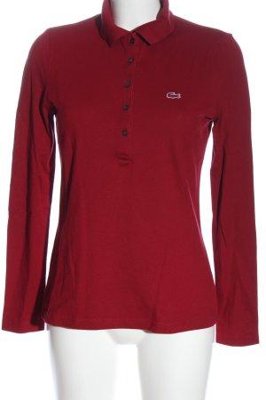 Lacoste Camiseta tipo polo rojo look casual