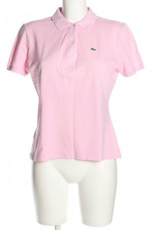 Lacoste Polo Shirt pink casual look