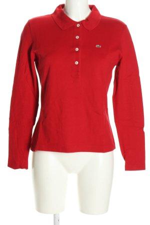 Lacoste Koszulka polo czerwony W stylu casual