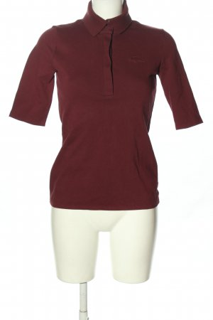 Lacoste Polo-Shirt rot Casual-Look