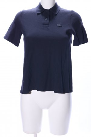 Lacoste Polo-Shirt blau Casual-Look