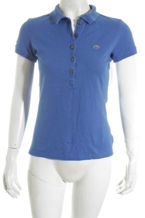 Lacoste Polo-Shirt blau klassischer Stil