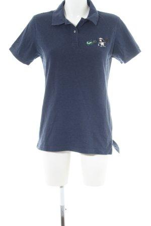 Lacoste Polo-Shirt blau meliert sportlicher Stil