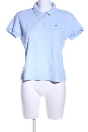 Lacoste Polo bleu style décontracté