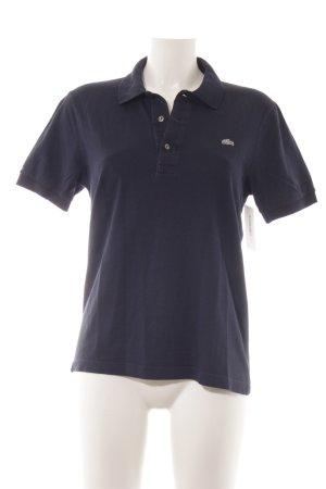 Lacoste Polo-Shirt dunkelblau sportlicher Stil